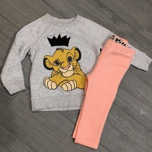 Disney Lion King Outfit 12-18 Months